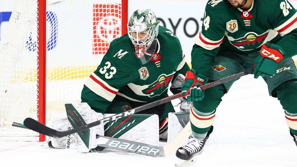 Talbot, Wild shut out Blues in 11th straight win at home