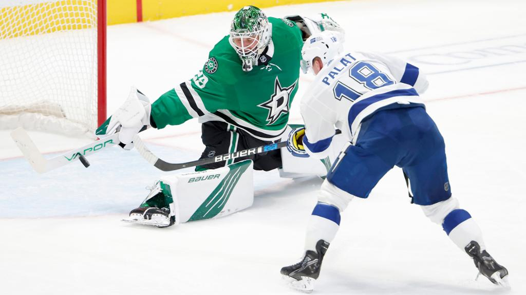 Oettinger living 'dream come true' for Stars during rookie season