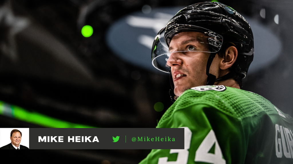 With encouragement, patience, Stars confident Gurianov's luck will turn | NHL.com