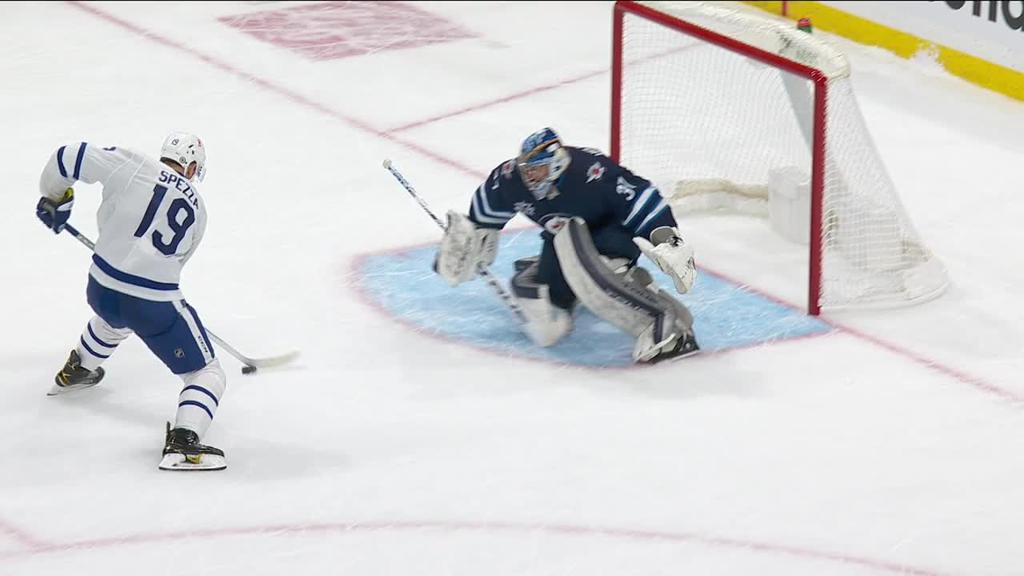 Campbell makes 31 saves for Maple Leafs in shootout win against Jets