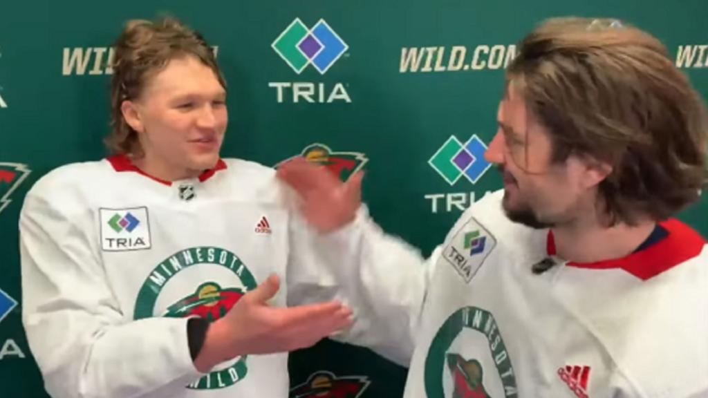 Wild assist unveiling Minnesota State High School All-Hockey Hair Team