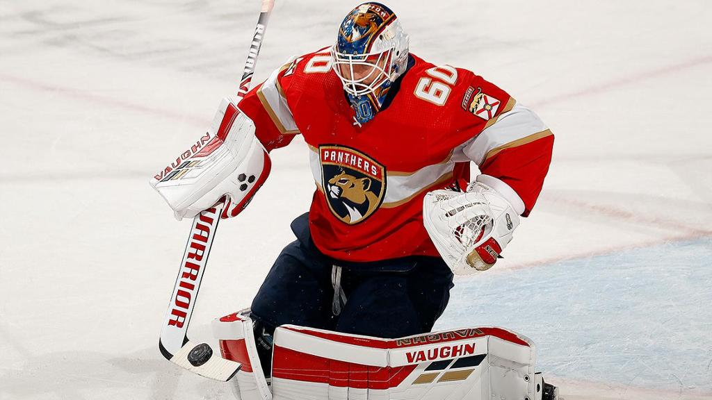 Driedger makes 32 saves, Panthers shut out Blue Jackets, win sixth in row