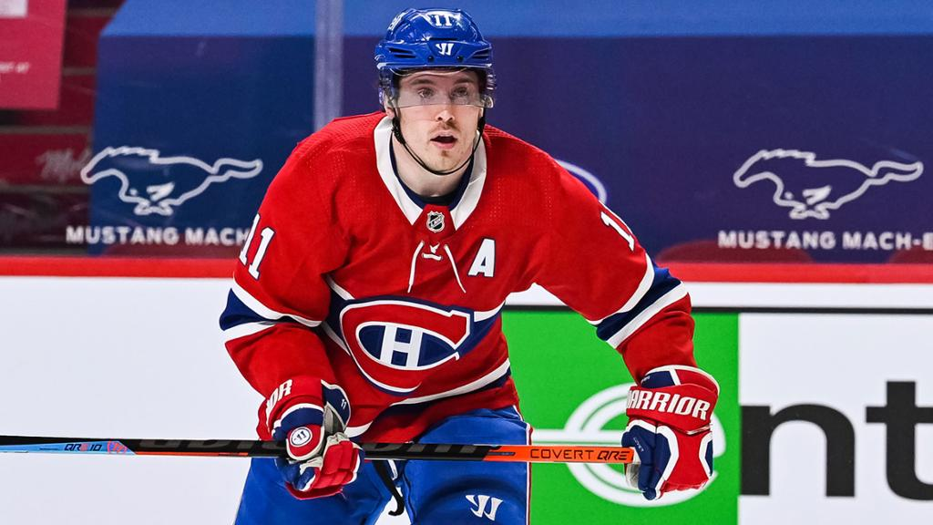 Gallagher out indefinitely for Canadiens with broken thumb