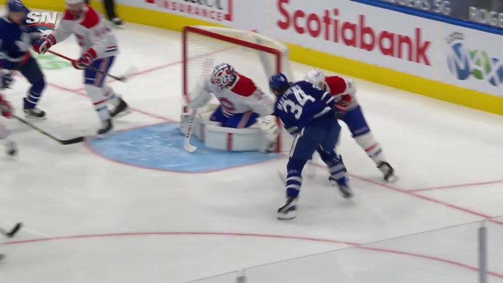 Campbell wins 10th straight, Maple Leafs top Canadiens
