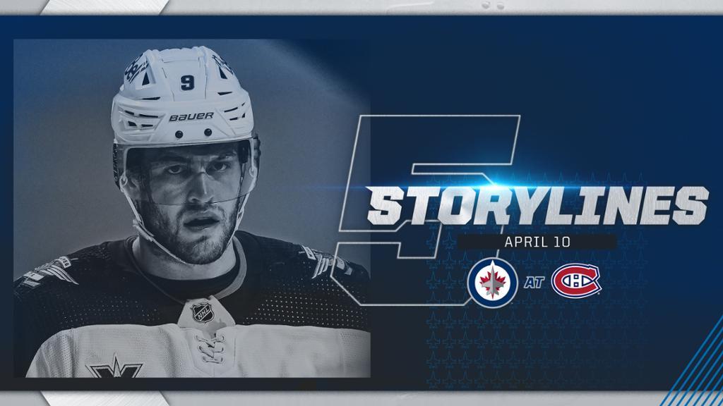 Thomas' Five Storylines - WPG @ MTL | NHL.com