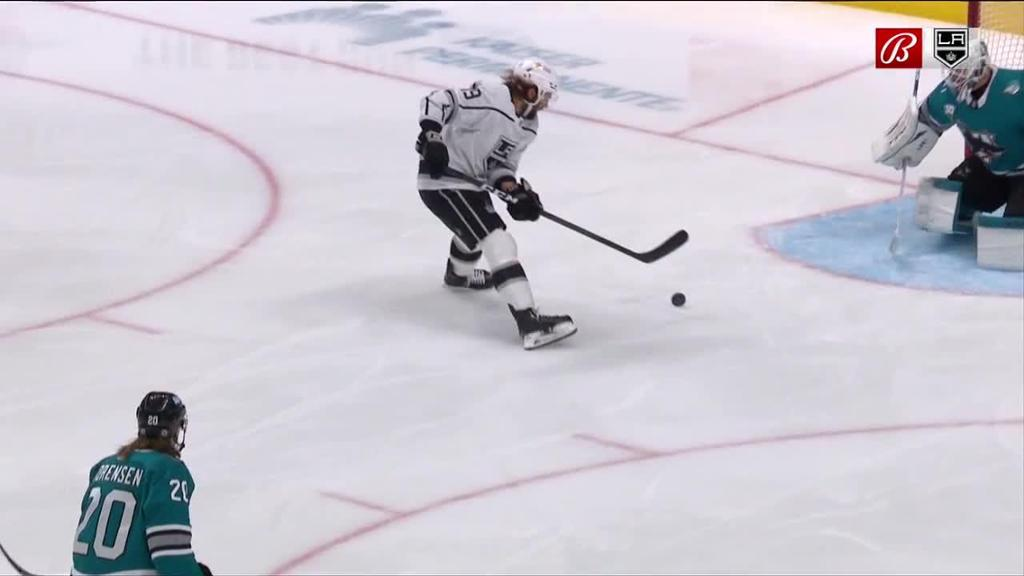 Quick helps Kings shut down Sharks, split back-to-back set