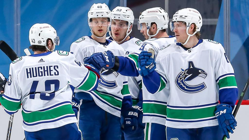 Canucks practice after COVID-19 outbreak, to play Oilers on Friday