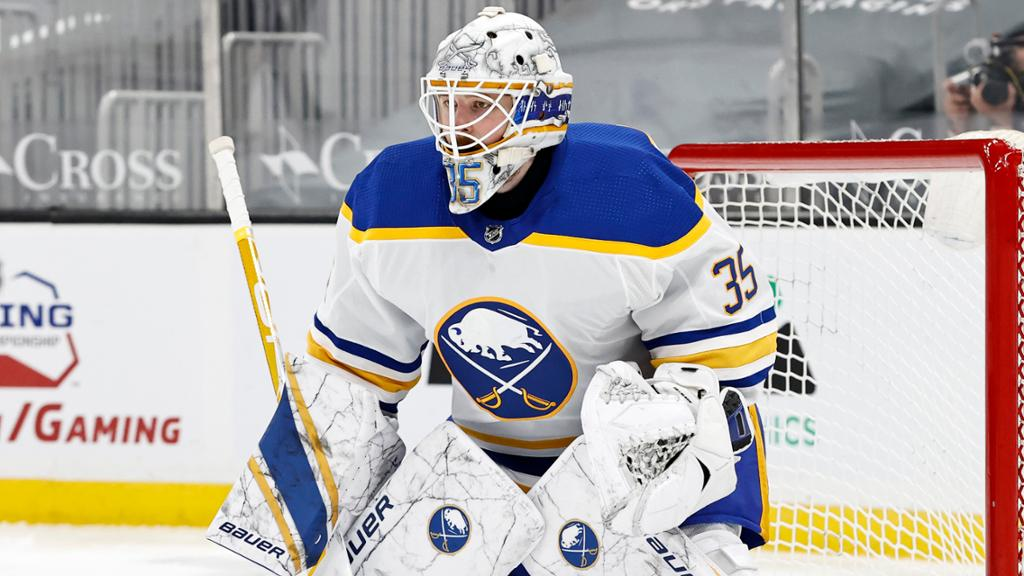 Ullmark of Sabres leaves game against Bruins with undisclosed injury