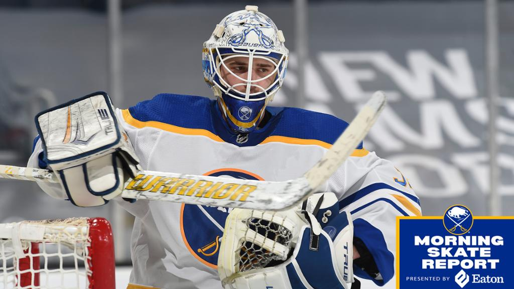 Morning Skate | Tokarski to start as Sabres evaluate injuries in net | NHL.com