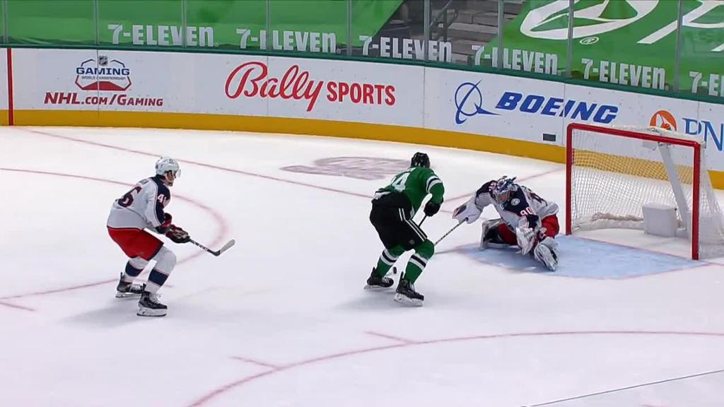 Gurianov scores two goals for Stars in win against Blue Jackets
