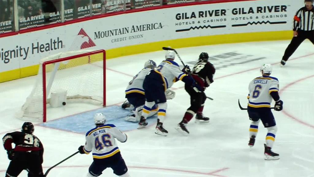Coyotes rally past Blues, end losing streak at five