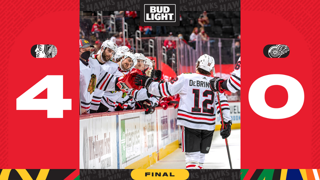 RECAP: Blackhawks Blank Red Wings, 4-0 | NHL.com