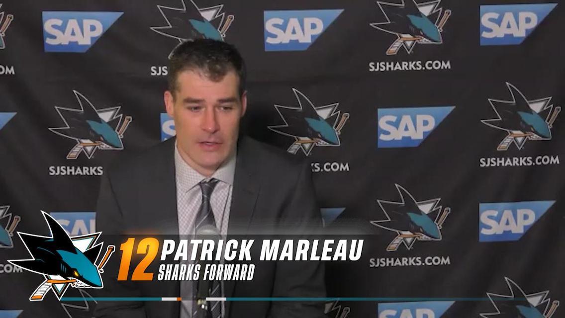 Postgame vs VGK (4/19): Marleau | NHL.com
