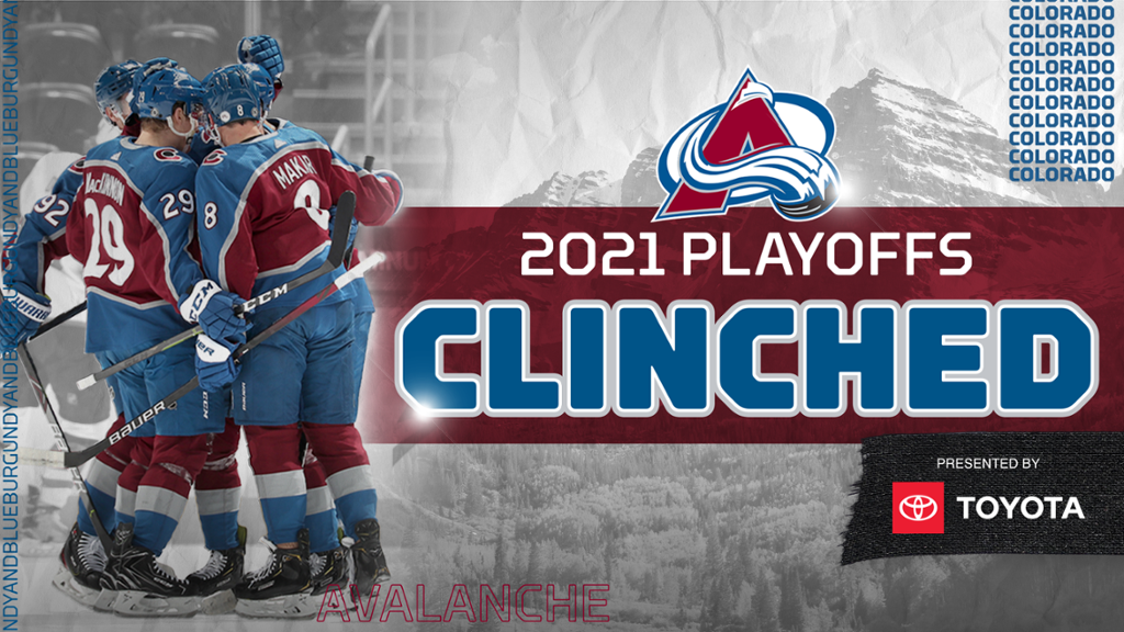 Avalanche Clinches Spot in 2021 Stanley Cup Playoffs | NHL.com