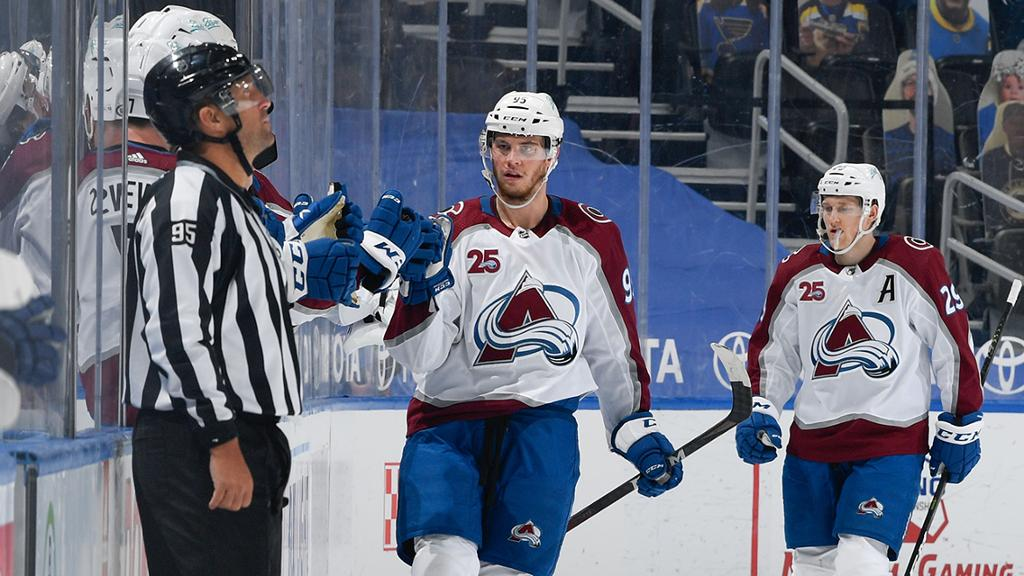 Avalanche clinch playoff berth in return with win against Blues