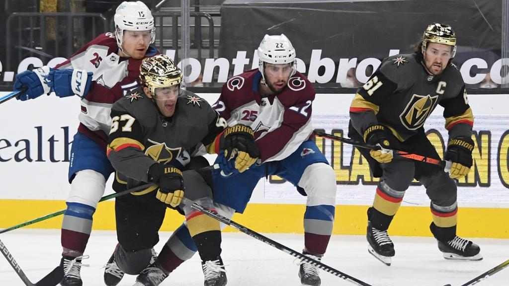 What to Watch: Golden Knights set for big test against Avalanche