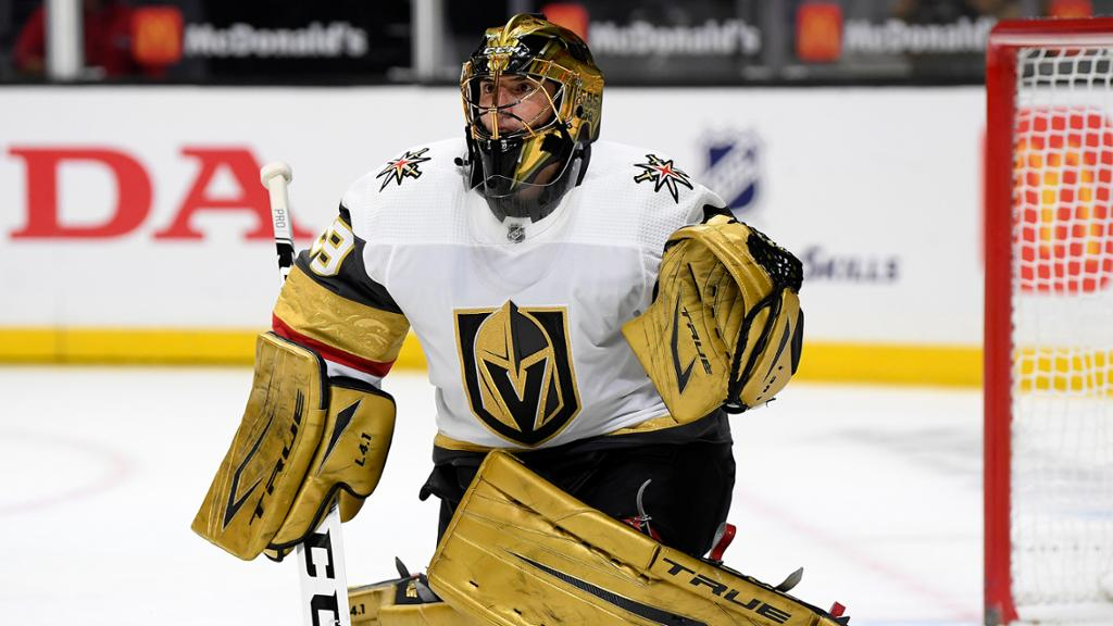 Trophy Tracker weekly division leaders include Fleury, Norris