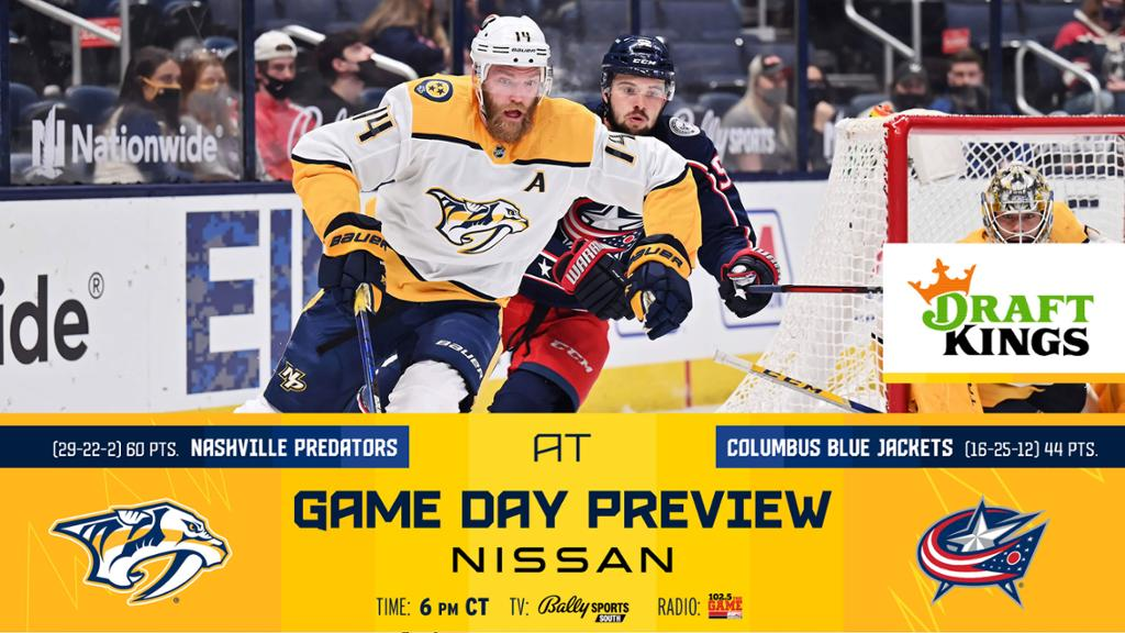 Game Day: Preds at Blue Jackets Preview | NHL.com