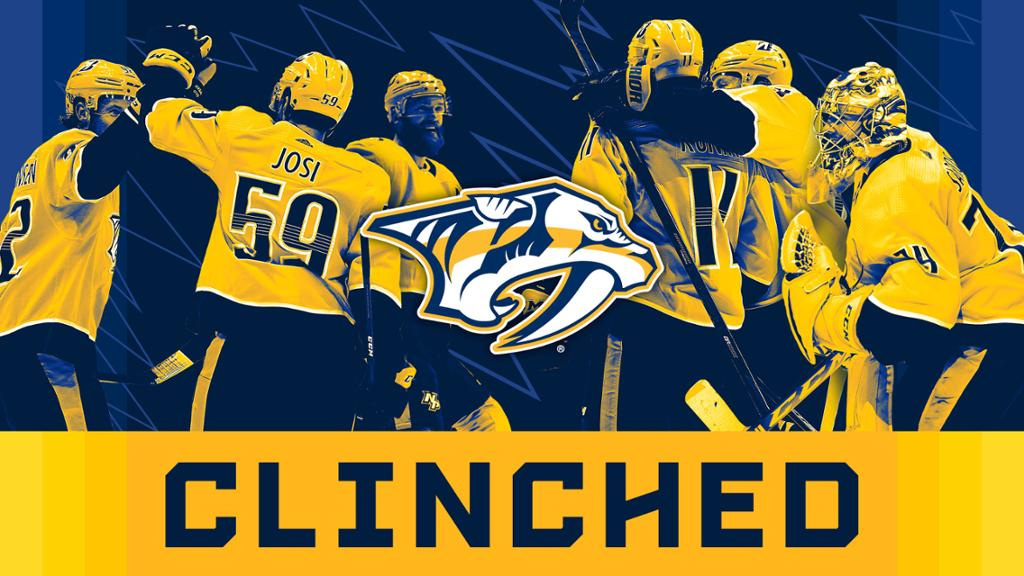 Preds Clinch Spot in 2021 Stanley Cup Playoffs | NHL.com