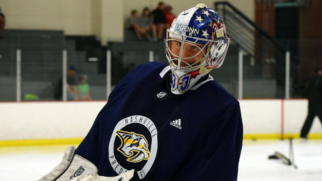 Vomacka Takes Next Step in Journey by Signing First Pro Deal with Preds