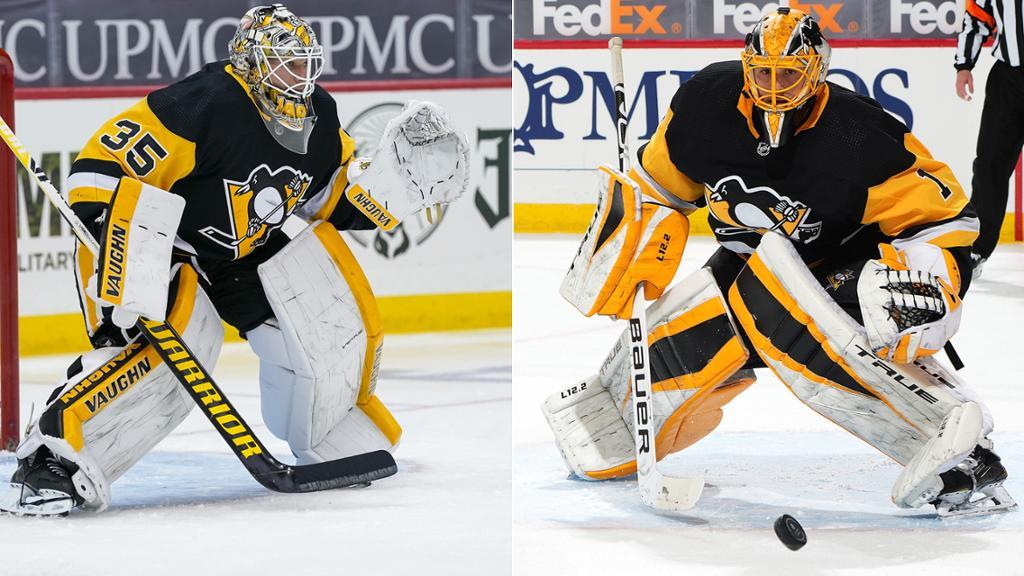 Penguins confident in goalies Jarry, DeSmith entering season
