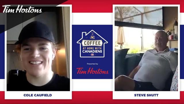 Cole Caufield meets Steve Shutt | NHL.com