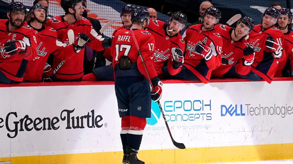 Raffl's Late Goal Lifts Caps in Finale | NHL.com