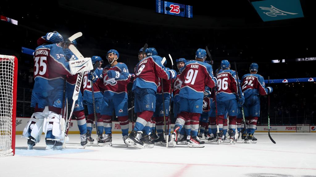 <p>Avalanche Secures Home-Ice Advantage Throughout Playoffs thumbnail