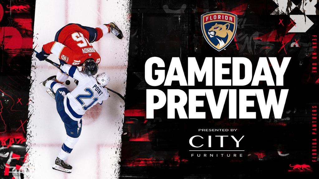 Preview: Panthers Full of Belief as They Open Playoffs against Lightning | NHL.com