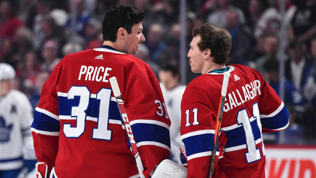 Price and Gallagher assigned to Laval on LTI conditioning loans | NHL.com