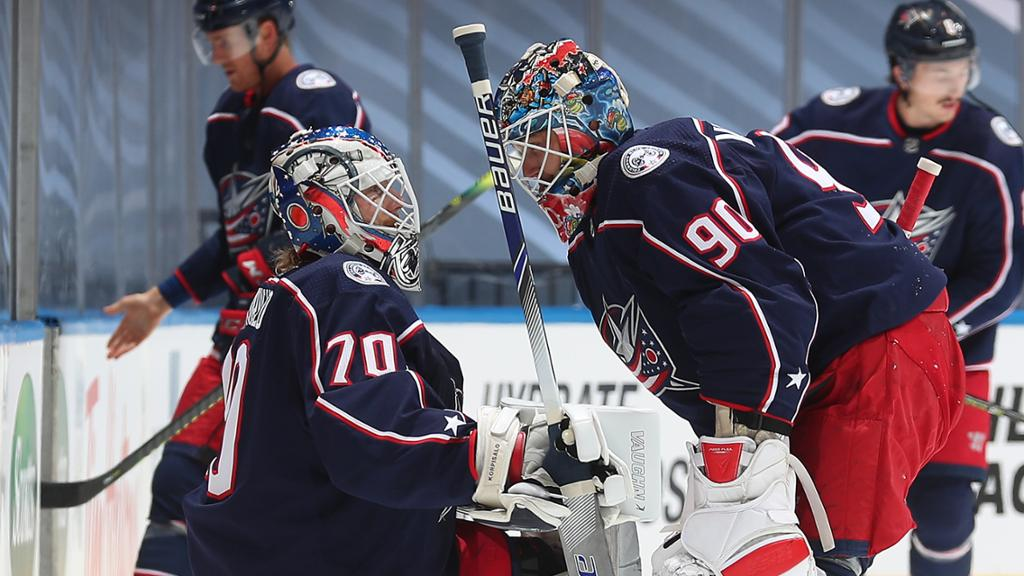 With two goalies and one net, Blue Jackets are at a crossroads | NHL.com
