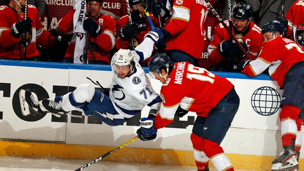 Fysisk inledning på Stanley Cup-slutspelet
