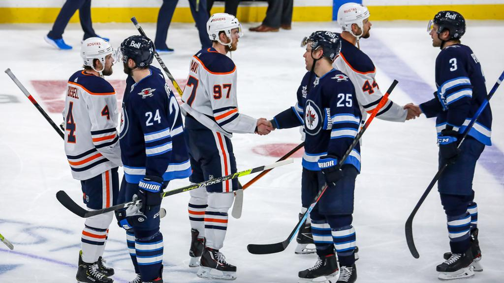 Oilers swept in first round of playoffs, couldn't close against Jets