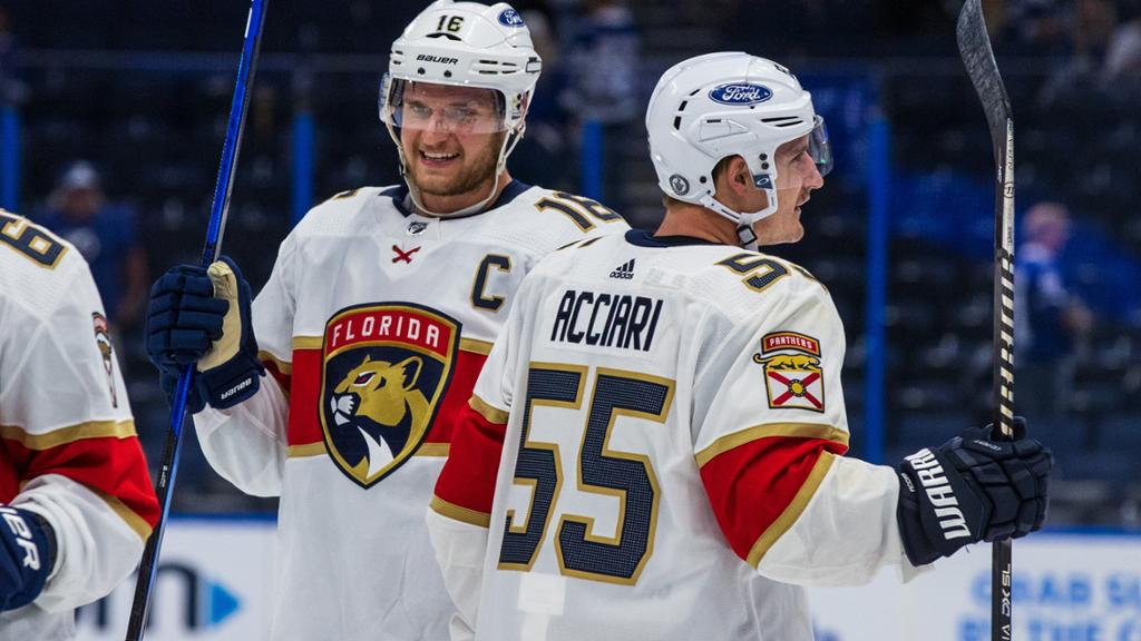 Panthers believe series loss to Lightning sign of better times ahead