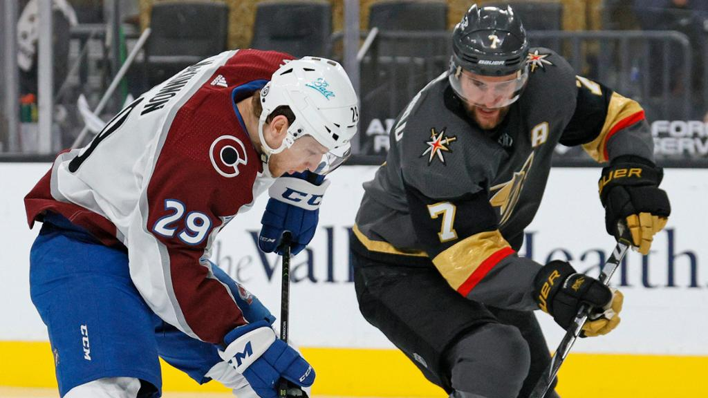 Avalanche will play Golden Knights in Stanley Cup Second Round