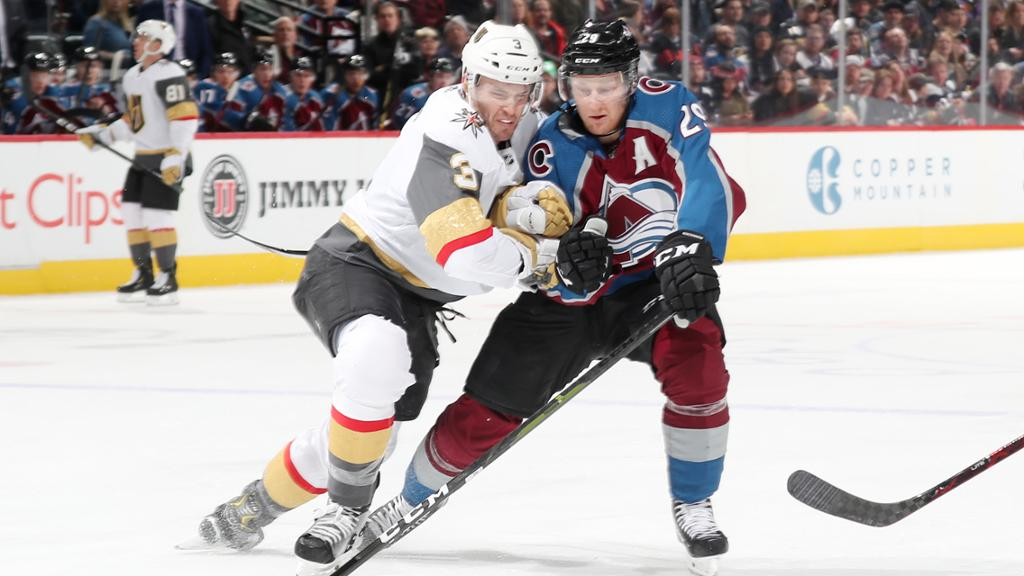 3 Keys: Golden Knights at Avalanche, Game 1 of second round