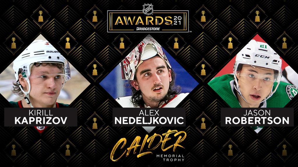 Calder Trophy winner to be announced