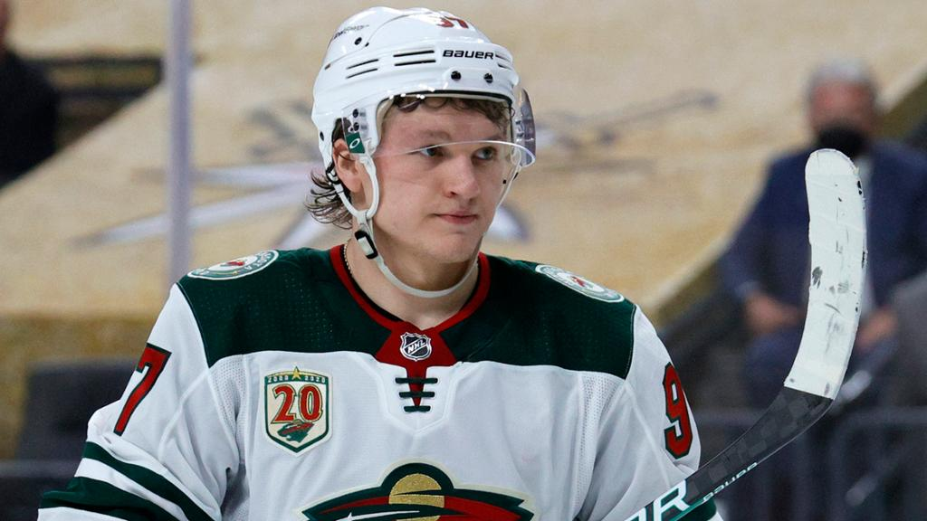 Wild hope to sign Kaprizov to long-term contract