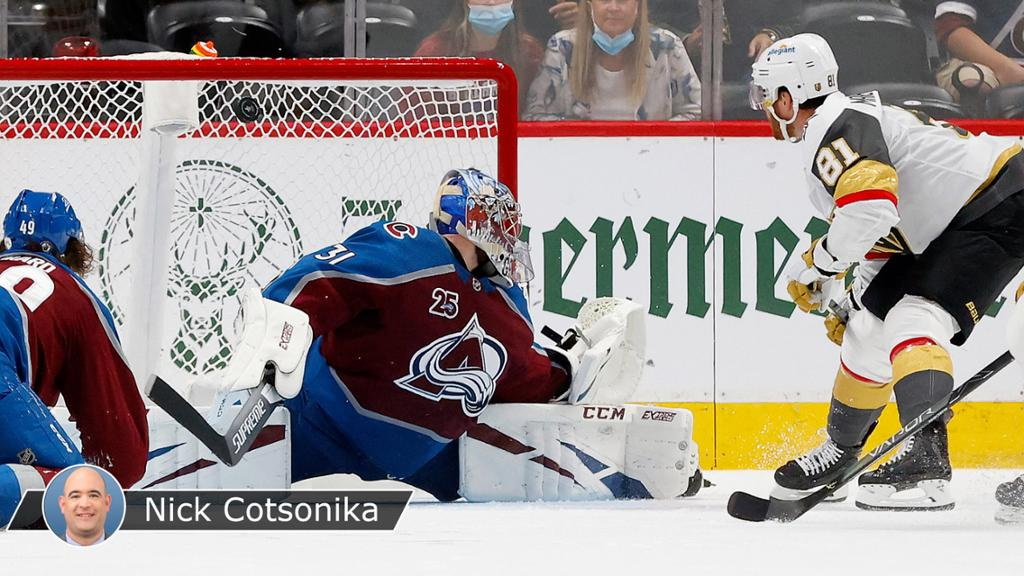 playoffs Avalanche outplay Golden Knights but turnovers costly in Game 5 loss thumbnail
