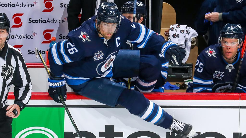 Andrew Copp Winnipeg Jets Player Swingman Jersey