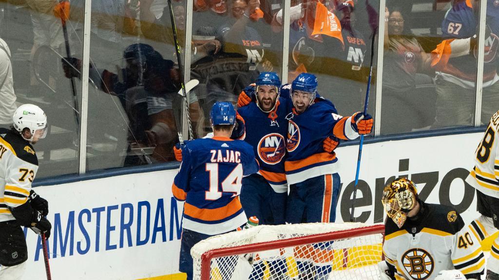 Zajac, Palmieri enjoying Islanders playoff run, help eliminate Bruins thumbnail