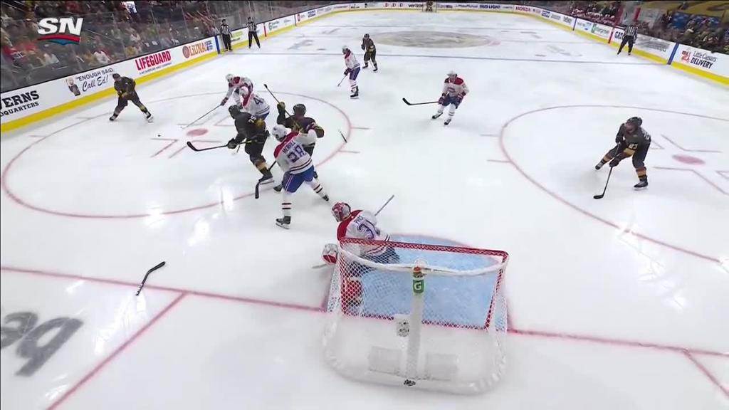 Canadiens hold off Golden Knights in Game 2, even series