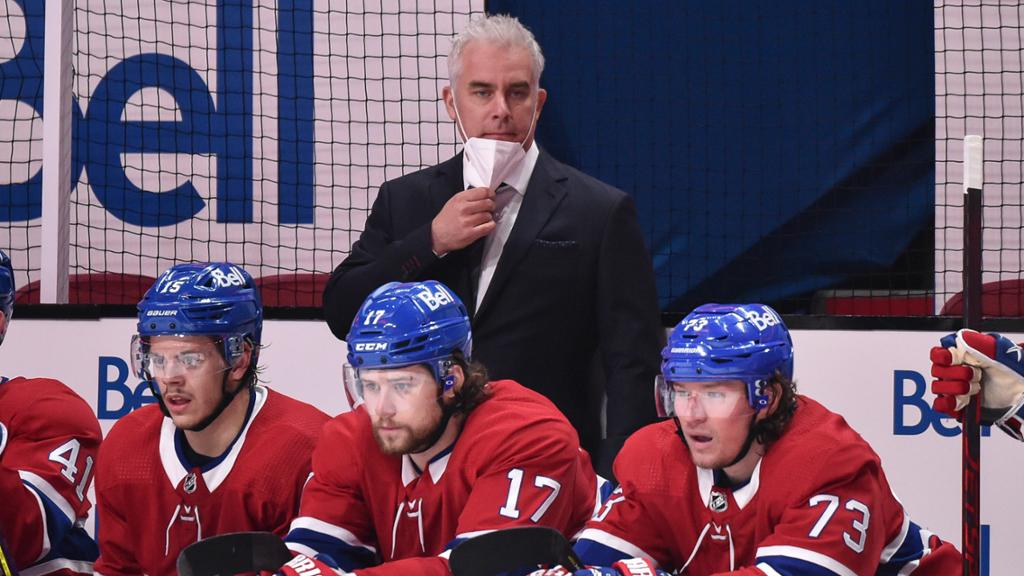 Ducharme tests positive for COVID-19, Canadiens coach misses Game 3