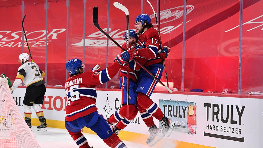 Canadiens defeat Golden Knights in OT in Game 3, take lead in Semifinals
