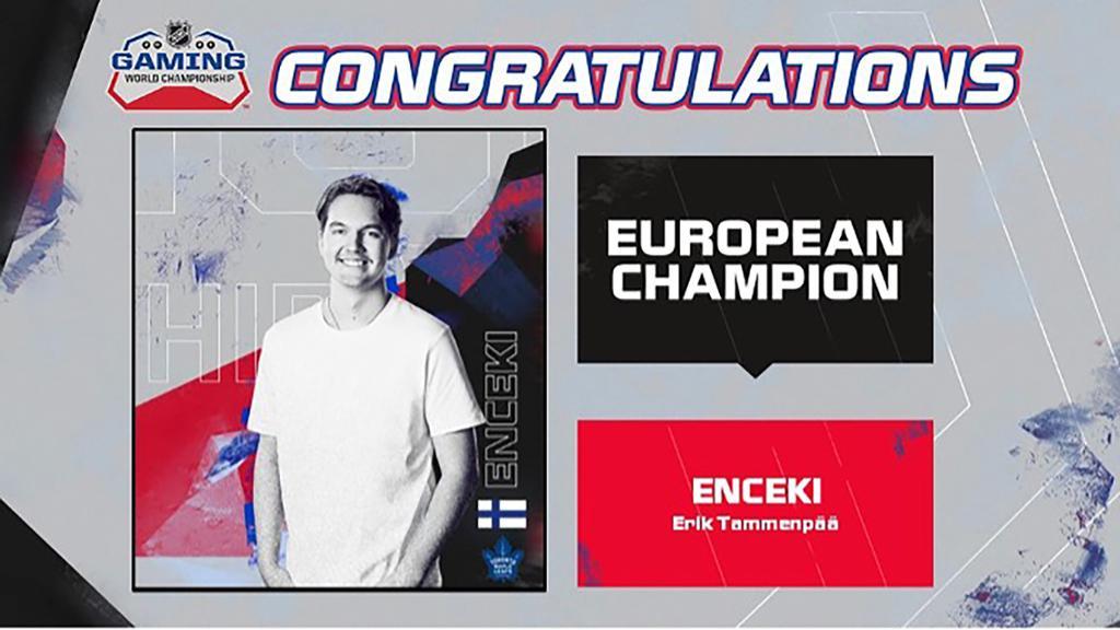 NHL Gaming World Championship crowns European tournament winner