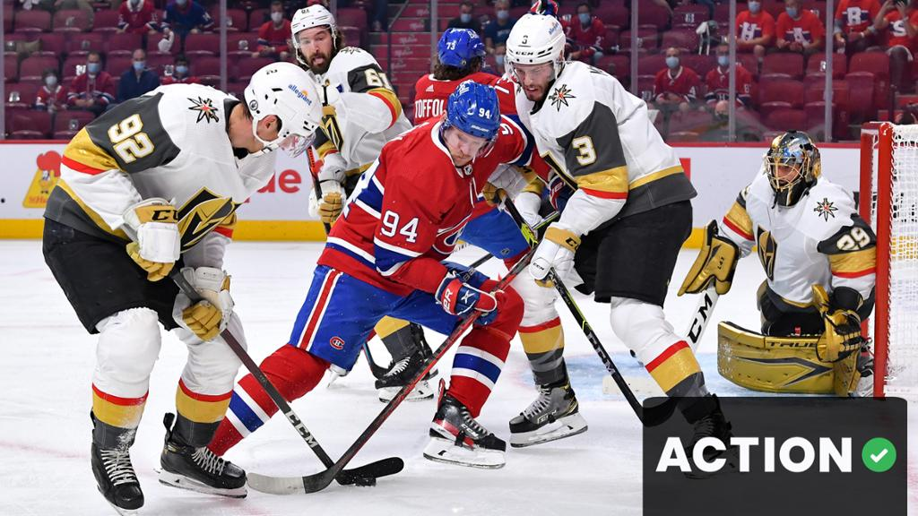 The Action Network: Golden Knights vs. Canadiens, Game 4 odds, analysis   NHL.com