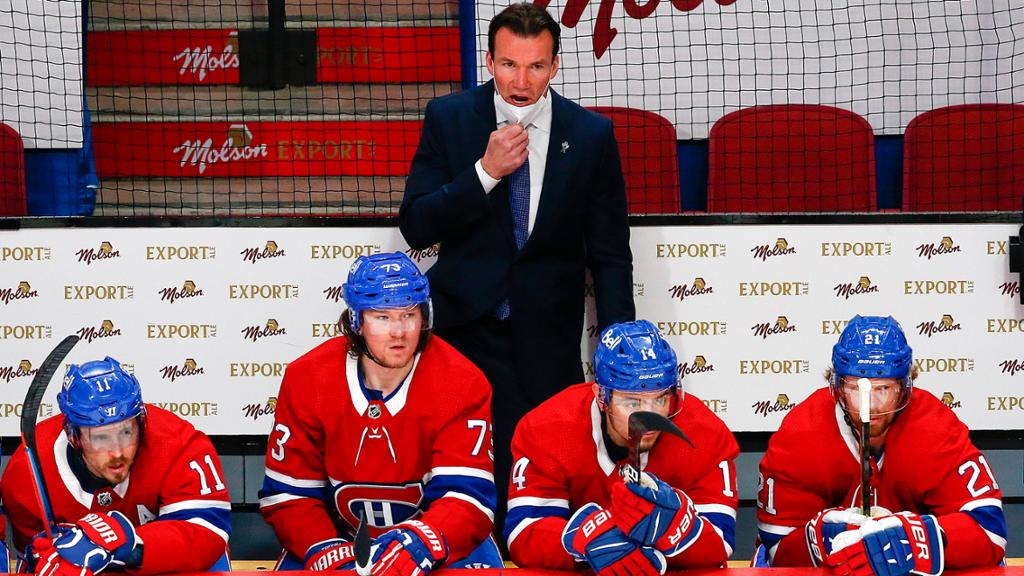 Canadiens confident in new coach entering Game 4 against Golden Knights