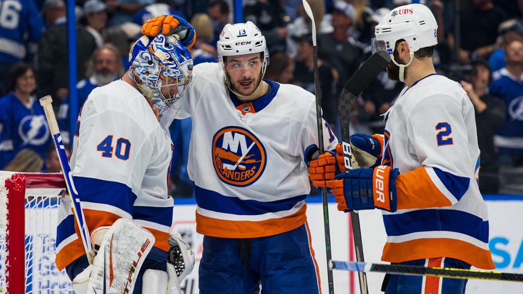 Islanders focus on Game 7 of Semifinals after stirring win vs. Lightning