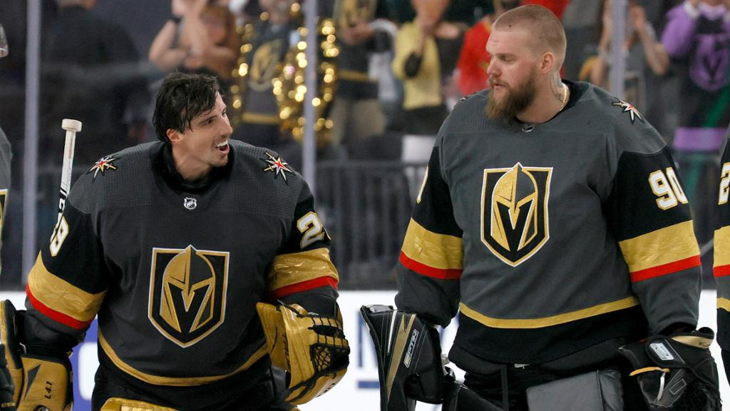 Fleury wants to end career with Golden Knights, Lehner to stay