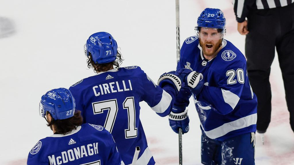 Coleman, Cirelli among top performers for Lightning in Cup Final Game 2
